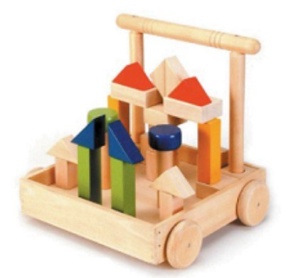 building blocks image. Wooden Toys - Building Block