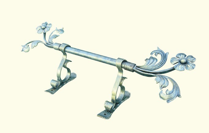 China Wrought Iron Curtain Rod C 05 China Wrought Iron