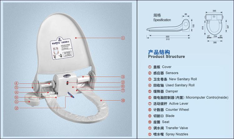 sanitary toilet seat bd 004 china sanitary toilet seat. Black Bedroom Furniture Sets. Home Design Ideas