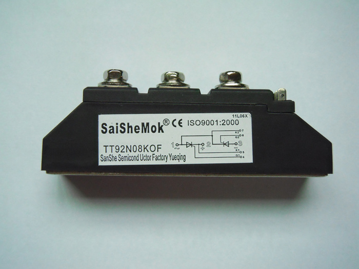 Thyristor Modules, Bridge Rectifier, SCR Module (TT92N08KOF)