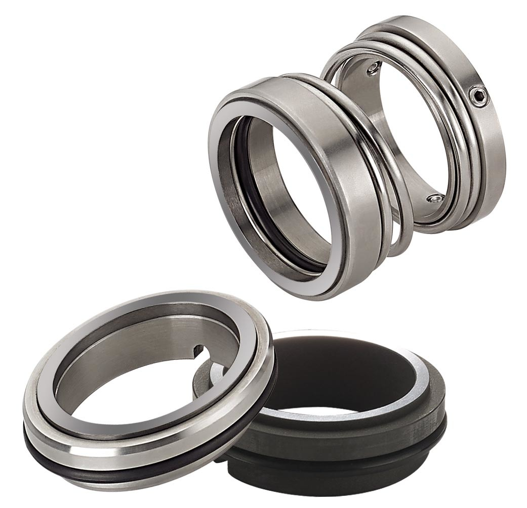 mechanical seal for pump A mechanical seal is simply a method of containing fluid within a vessel (typically pumps, mixers, etc) where a rotating shaft passes through a stationary housing or occasionally, where the housing rotates around the shaft.