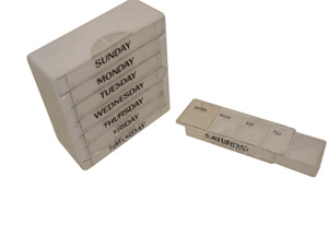 Medical Equipment 28 Room Pill Box (SW-PB42)