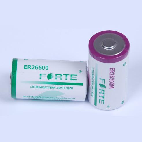 Primary Lithium Battery 3.6V C Size Er26500