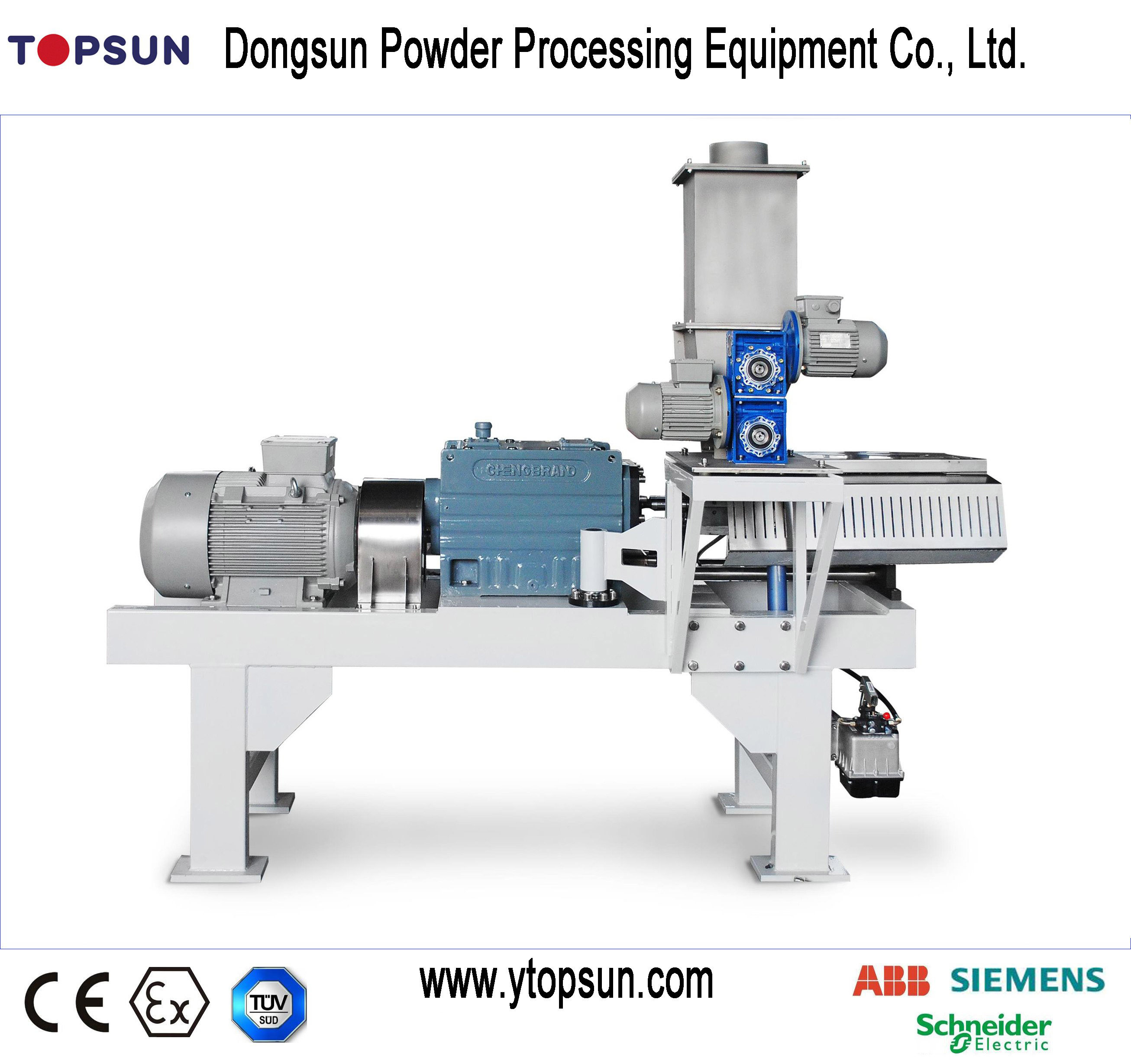 Ce Proved Twin Screw Extruder for Powder Coatings