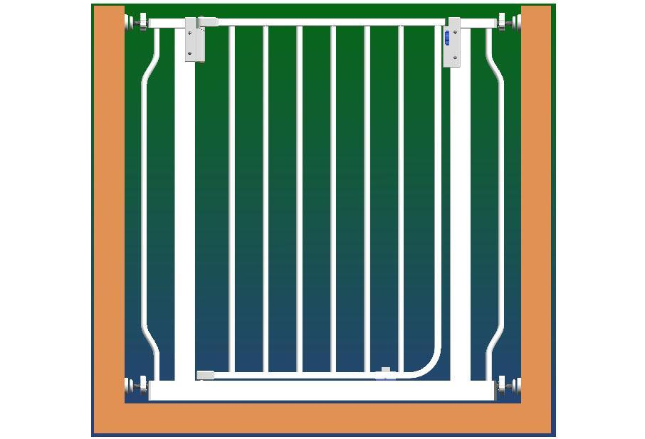 China baby safety gates hdl gate