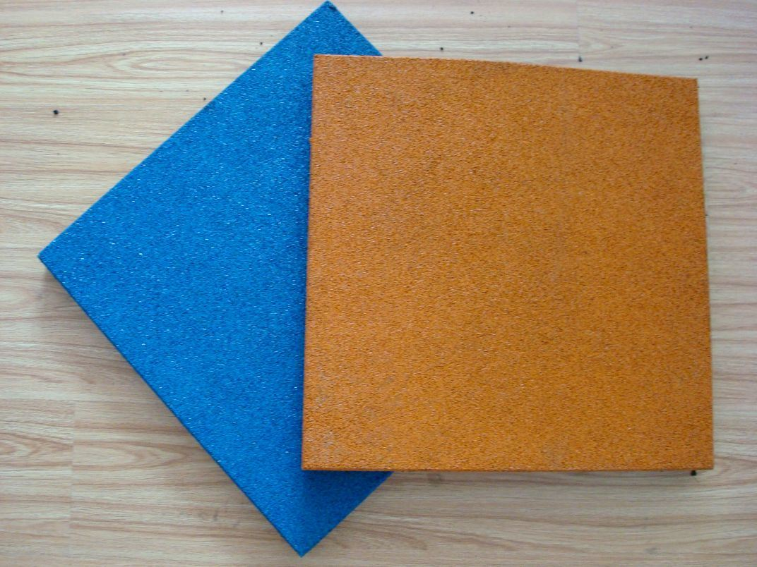 Backyard Rubber Tiles : Outdoor EPDM Rubber Tile (PT02)  China Epdm Rubber Tile, Playground