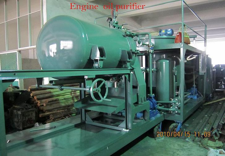 China Decolor Car Oil Recycling Machine Engine Oil
