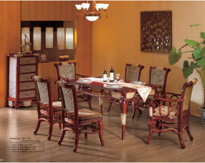 rattan dining room furniture trend home design and decor