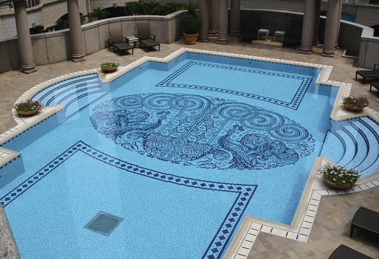 china crystal glass mosaic swimming pool yc18 china