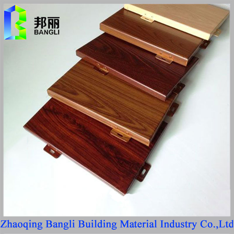 Wood Grain Coated Aluminum Panel Anodized Aluminum Sheet