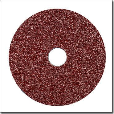 Round Abrasive 4′′ Fiber Disc for Auto Body Sanding Work