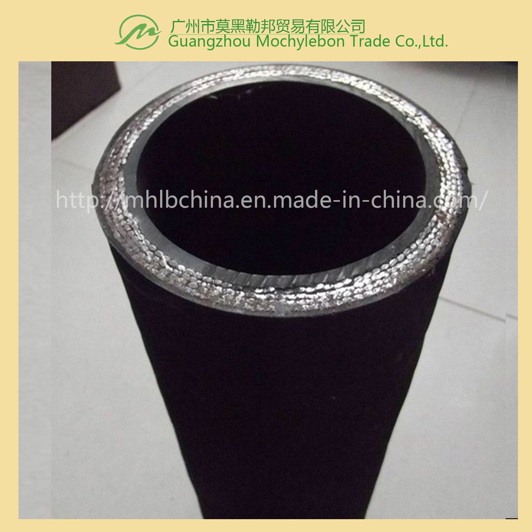 Wire Spiral Hydraulic Hose Fitting (EN856-4SP-5/8)