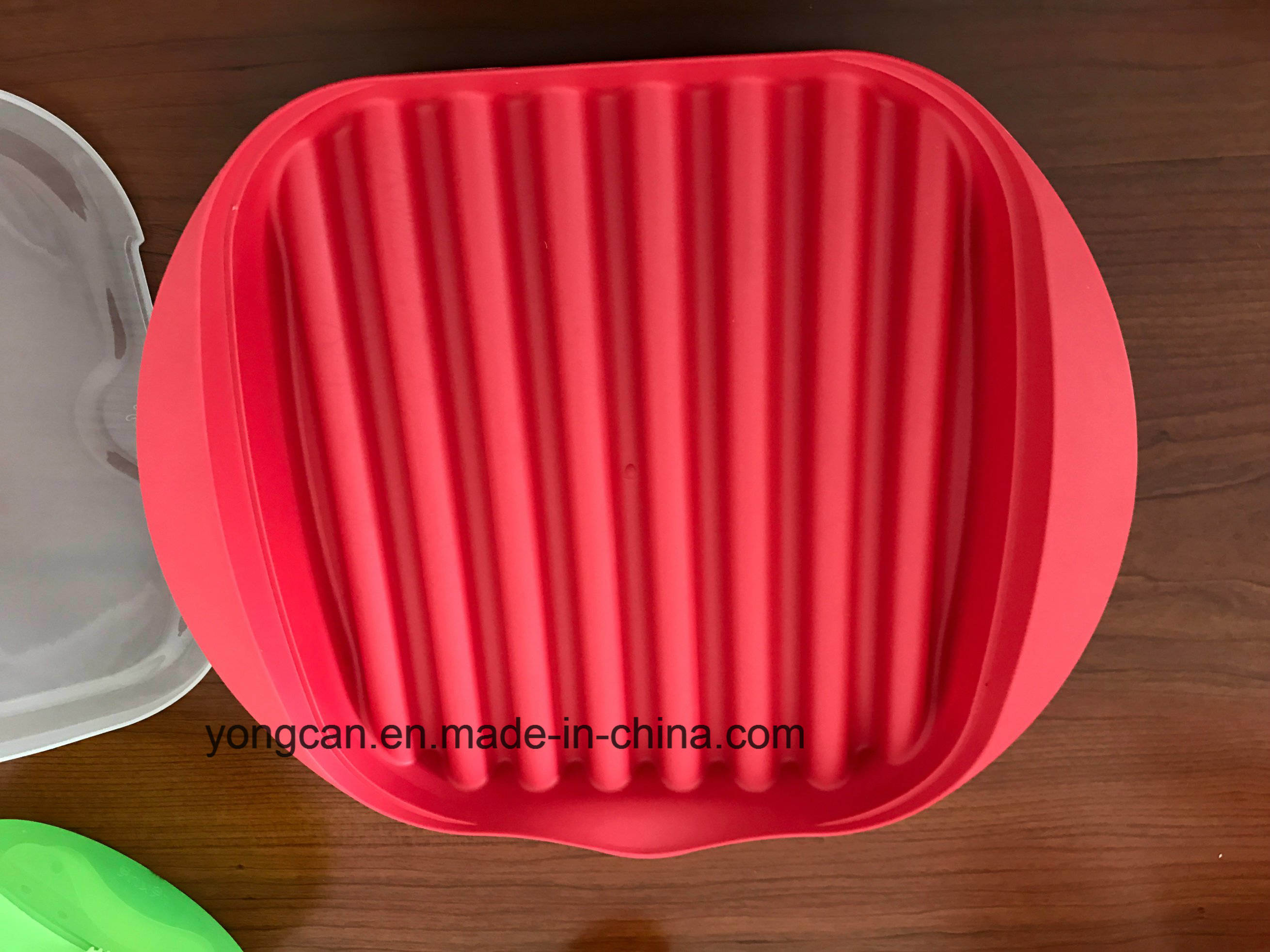 Microwave Bacon Plastic Silicone Cooker