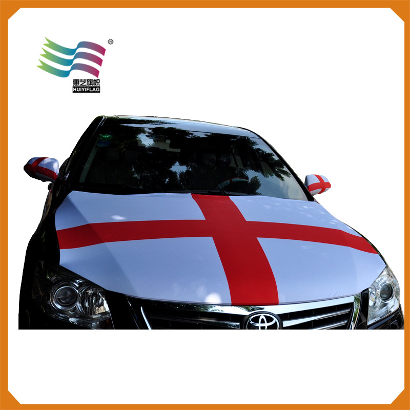 Custom Printing Advertising Banner for Car Flag Hood Cover (Hych-Af003)