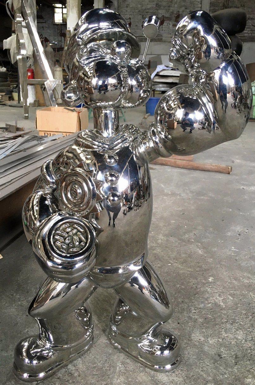 Sculpture Craft Production, Stainless Steel Sculpture Decoration Handicraft, Professional Customization