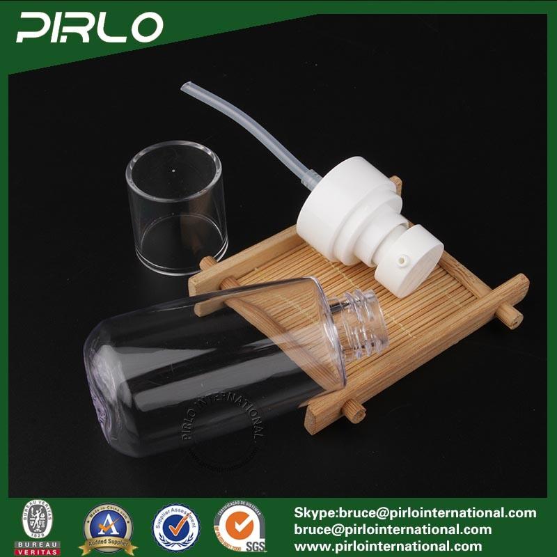 60ml 2oz Clear Plastic Pump Spray Bottle Cosmetic Packing Essence Oil Spray Bottle Empty Body Lotion Facial Serum Spray Bottle