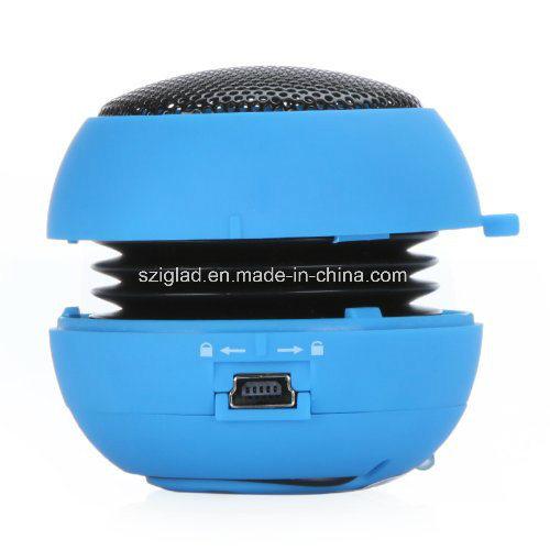 Mini Hamburger Shape Portable Wireless 3.5mm Plug USB Mobile Speaker