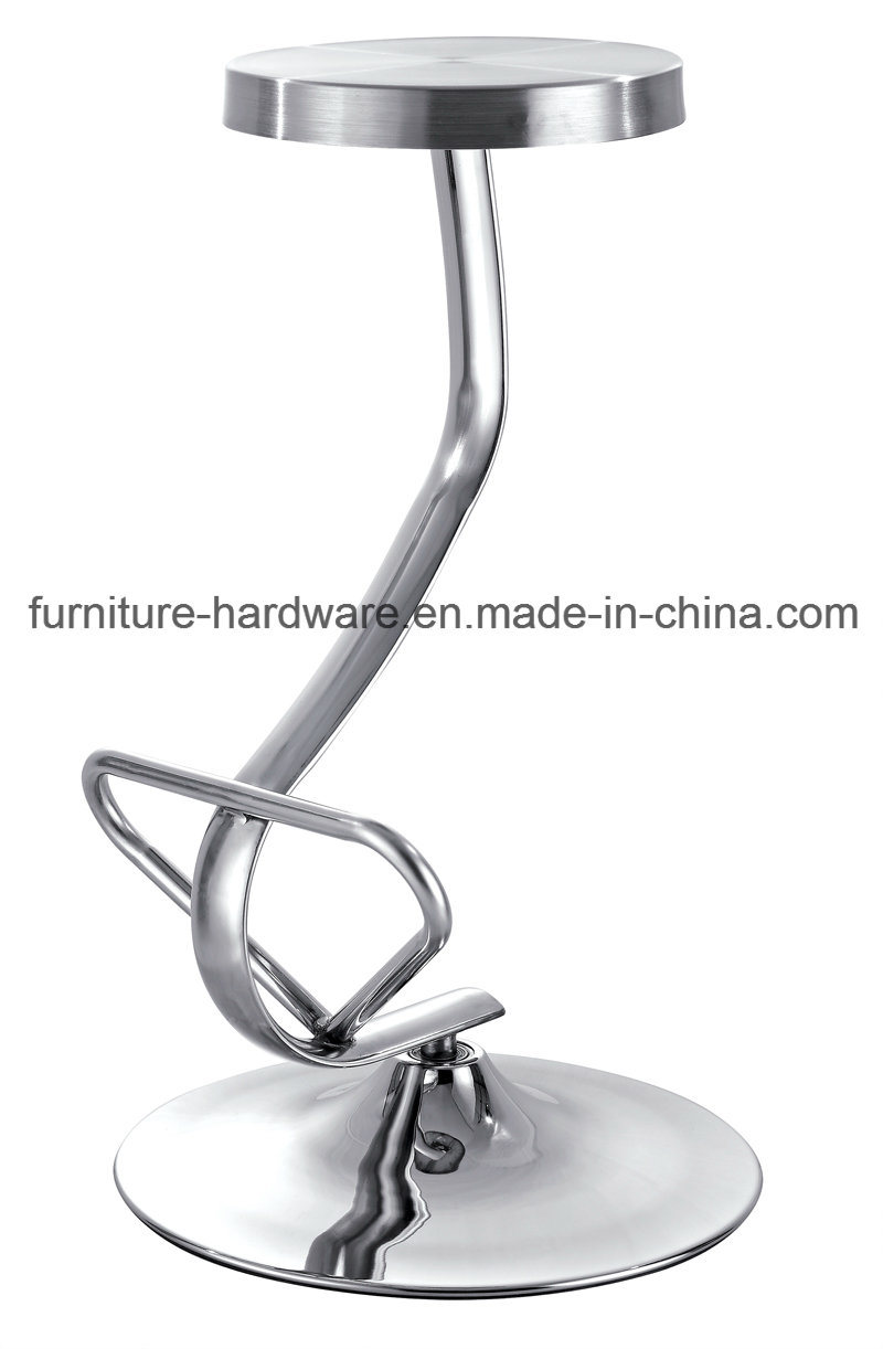 Furniture Replacement Parts Aluminum Table Leg Stool Chrome Base with Light Weight