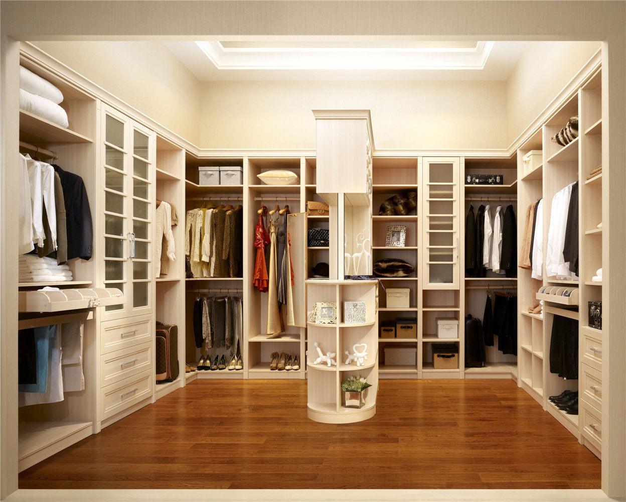 Bedroom Closet Walk-in Melamine Wardrobe