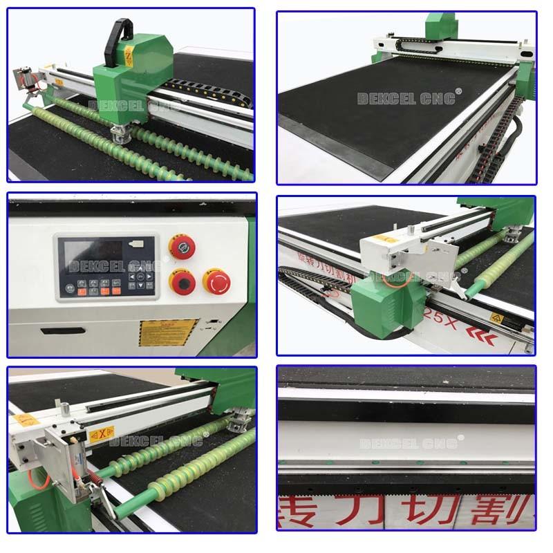 CNC Oscillating Knife Cutting Board Sign, MDF, PVC, Car Mat, Foam Machine Plotter