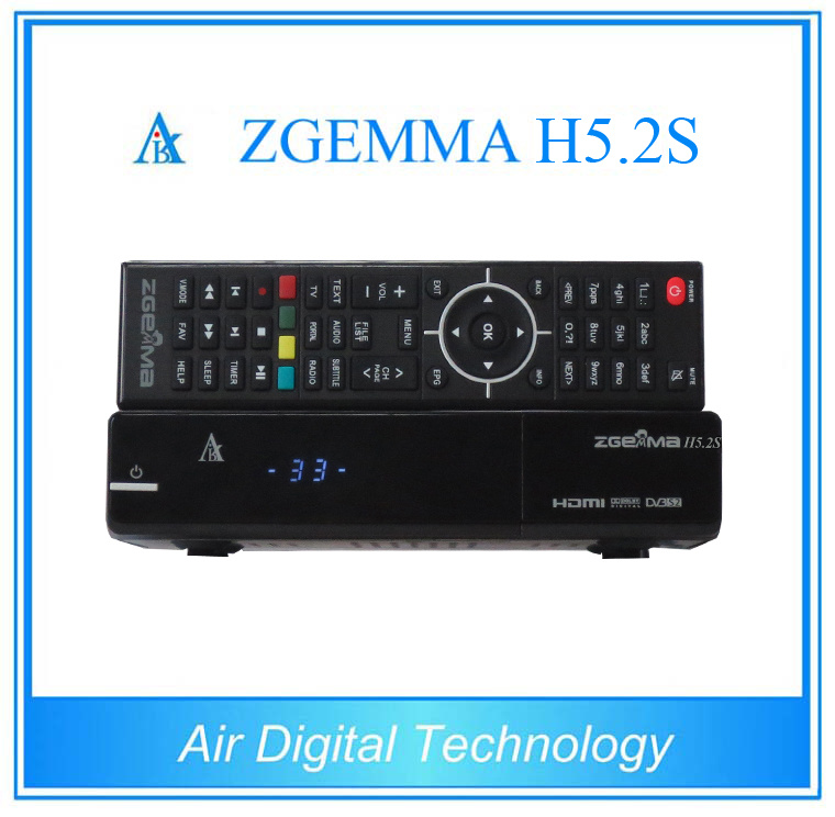 Powerful Zgemma H5.2s Satellite Receiver Twin DVB-S2 IPTV Decoder Set Top Box