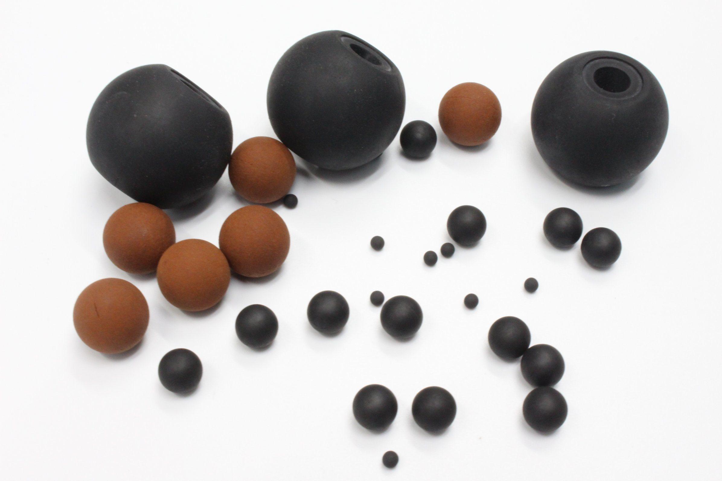 NBR Viton Nr Silicone Rubber Ball