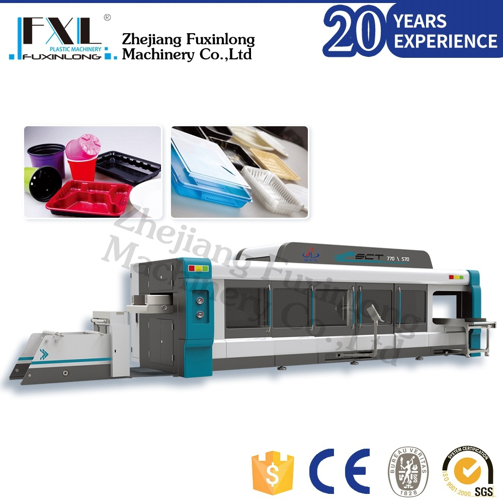2017 Hot Sale Plastic Container Thermoforming Machinery Price
