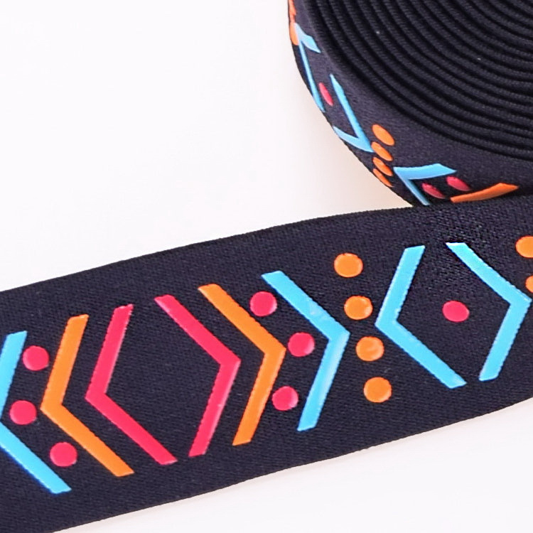 Strong Patterned Dacron/Nylon/Cotton Strap Elastic for Chair