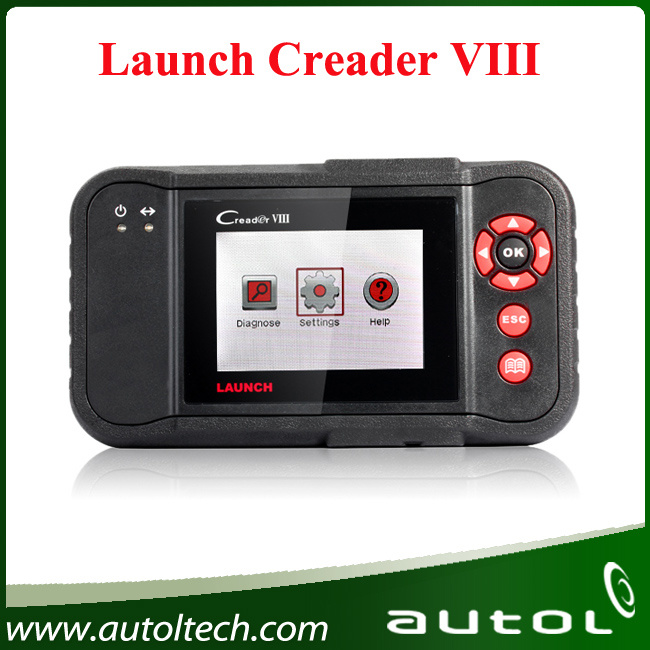 [Authorized Dealer] 2017 OBD2 Scanner Launch Creader VIII Upgrade Online