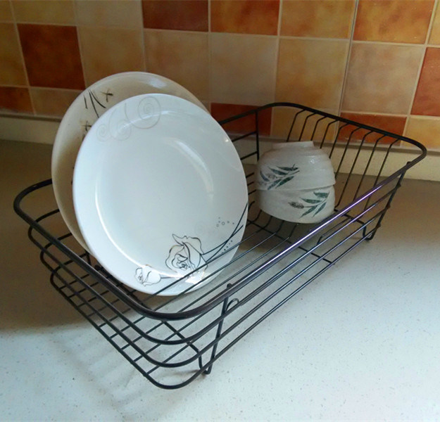 Extension-Type, Draining Dish Rack, Kitchen Tableware Implements Plate Dish Rack