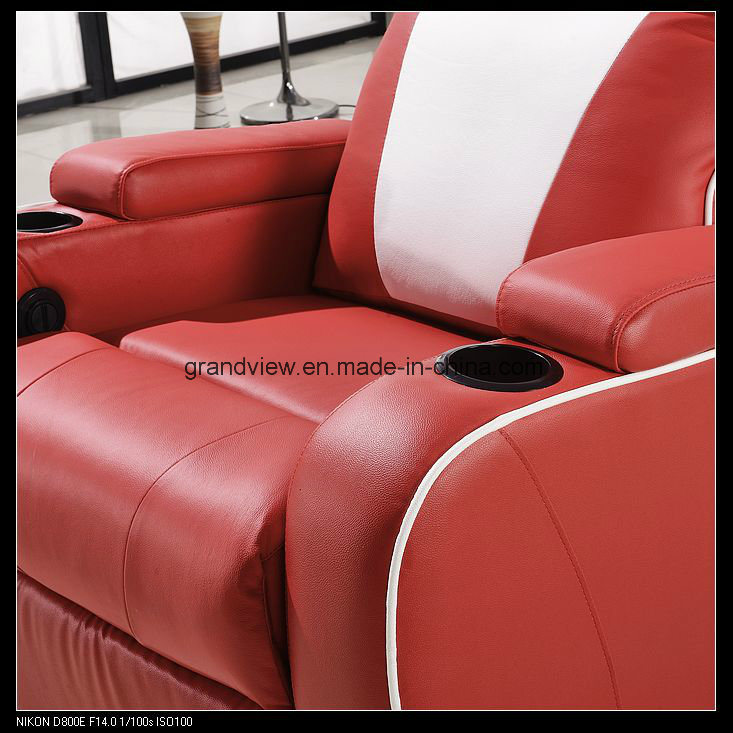 Real Movie Theater Seating Leather Power Recliner Chair Home Cinema Seats