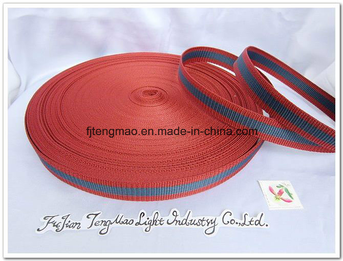 600d Marroon Polypropylene Webbing