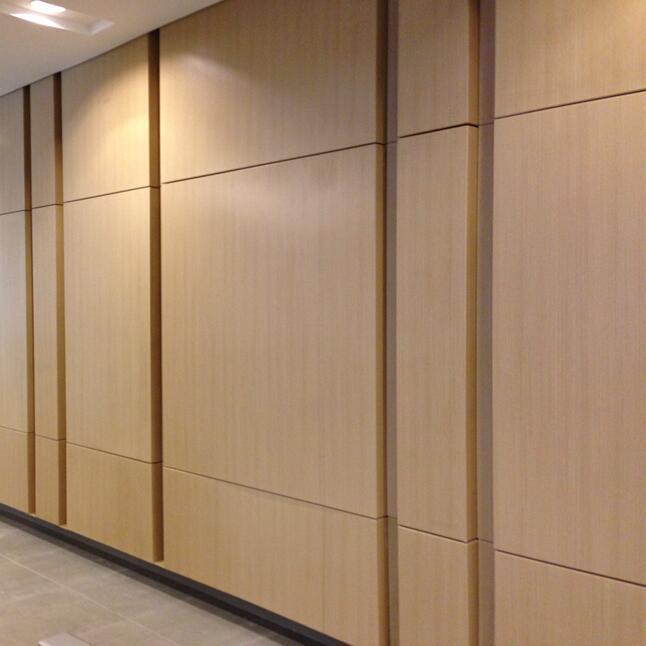 Wood Grain Colour Decorative Aluminum Curtain Wall Panel for Interior Decoration