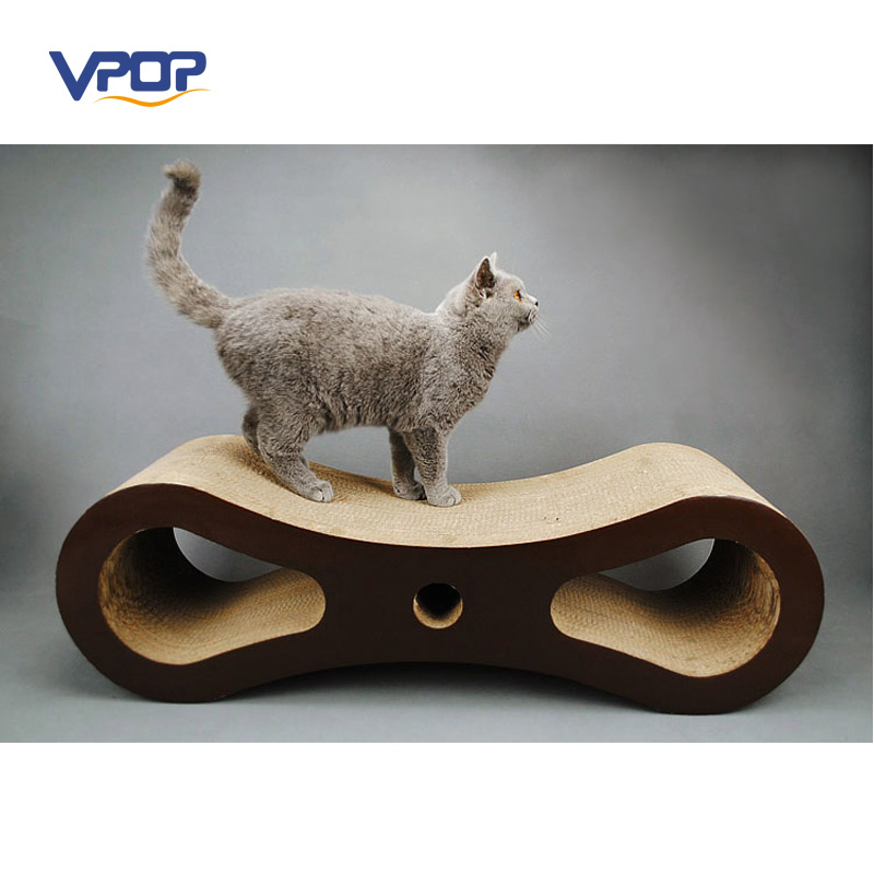 Hot-Sale 8 Shape Cat Scratcher Scratch Board Manufacturer