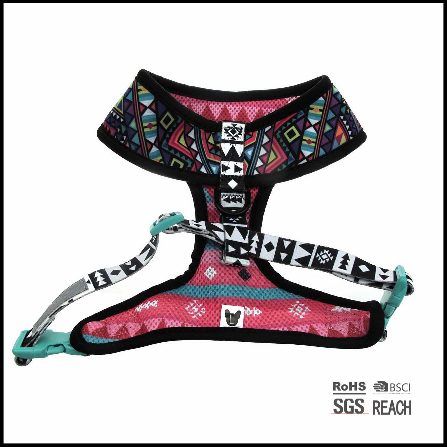 Puppia Neoprene Waterproof Desig Comfy Cool Dog Walking Vest Harness