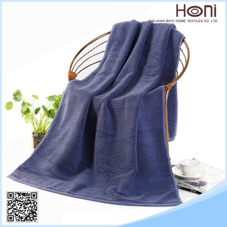 100% Cotton Customized Terry Bath Towel