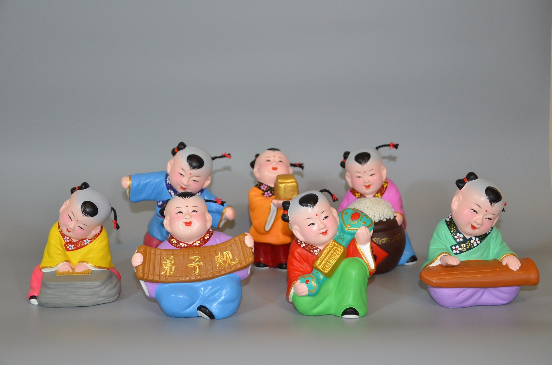 Clay Baby of Chinese Traditional Culture