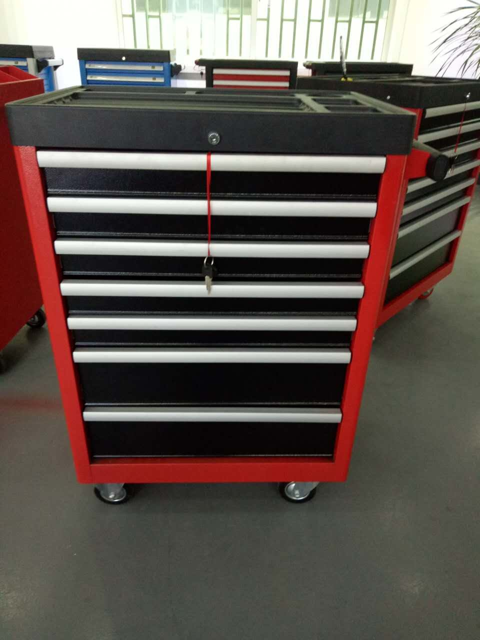 7 Drawres New Type Heavy Duty Empty Trolley (FY07A-3001)