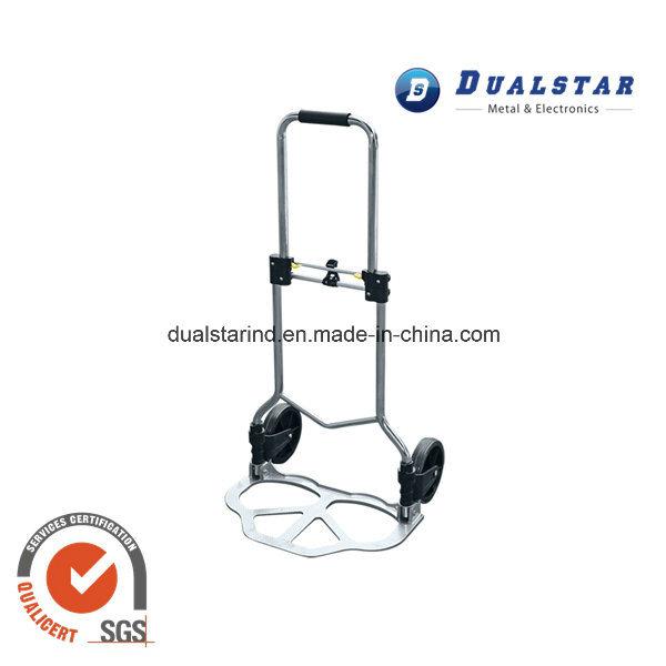 Iron Folding Hand Push Luggage Trolley