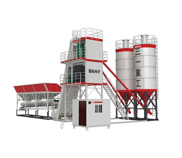 China 60 Cbm/H Ready Mobile Concrete Batching Plant Layout Drawing ...