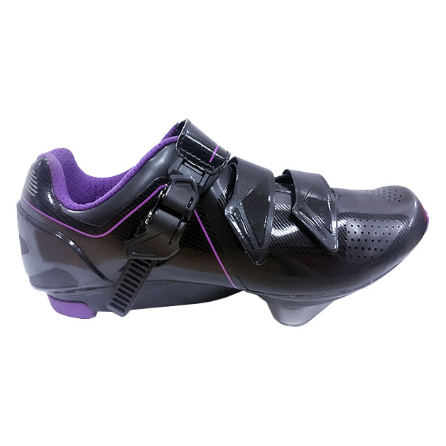 2016 OEM Road Racing Athletic Cycling Shoes Carbon Fiber Bicycle Shoes