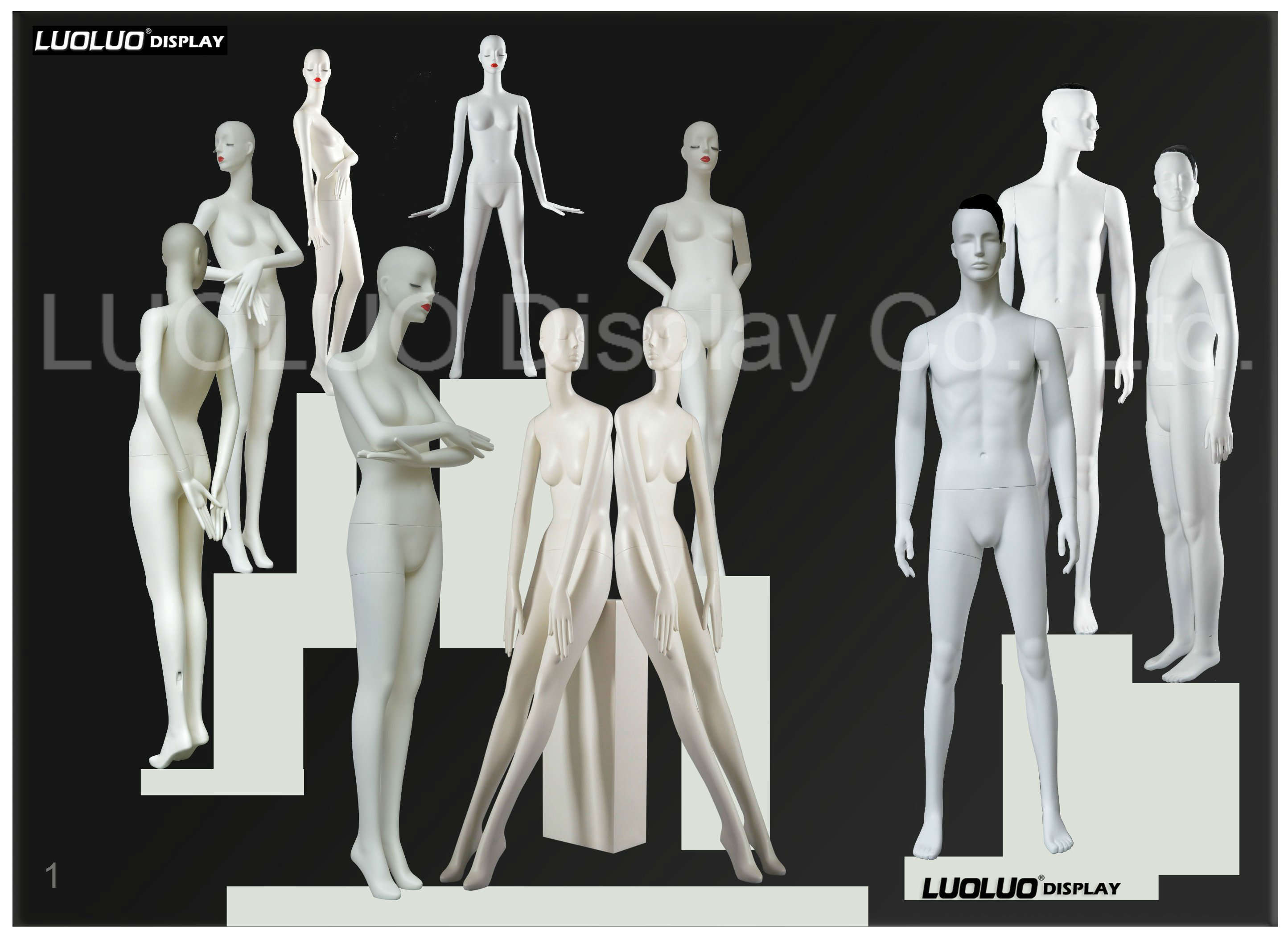 Fashion Mannequin for Store Windows Display
