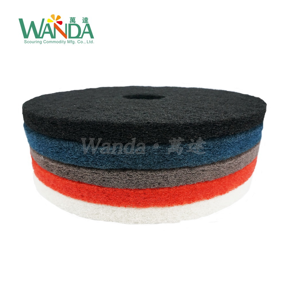 Red Marble Floor Polishing Pad Buffer Pad for Wet Spray Cleaning