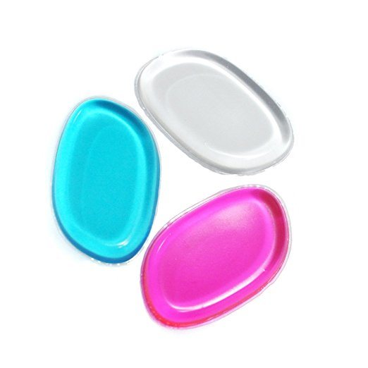 New Soft Silicone Makeup Puff Silicone Foundation Blender Sponge