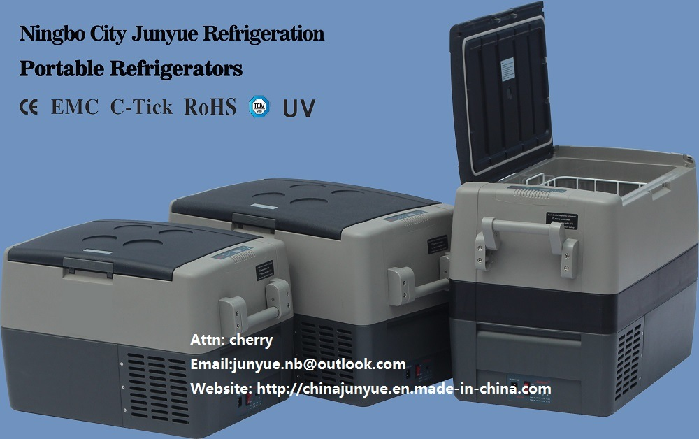 DC 12V 24V Mini Portable Car Refrigerator