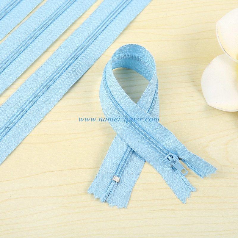 No. 3 Nylon Zipper Pin Lock Slider