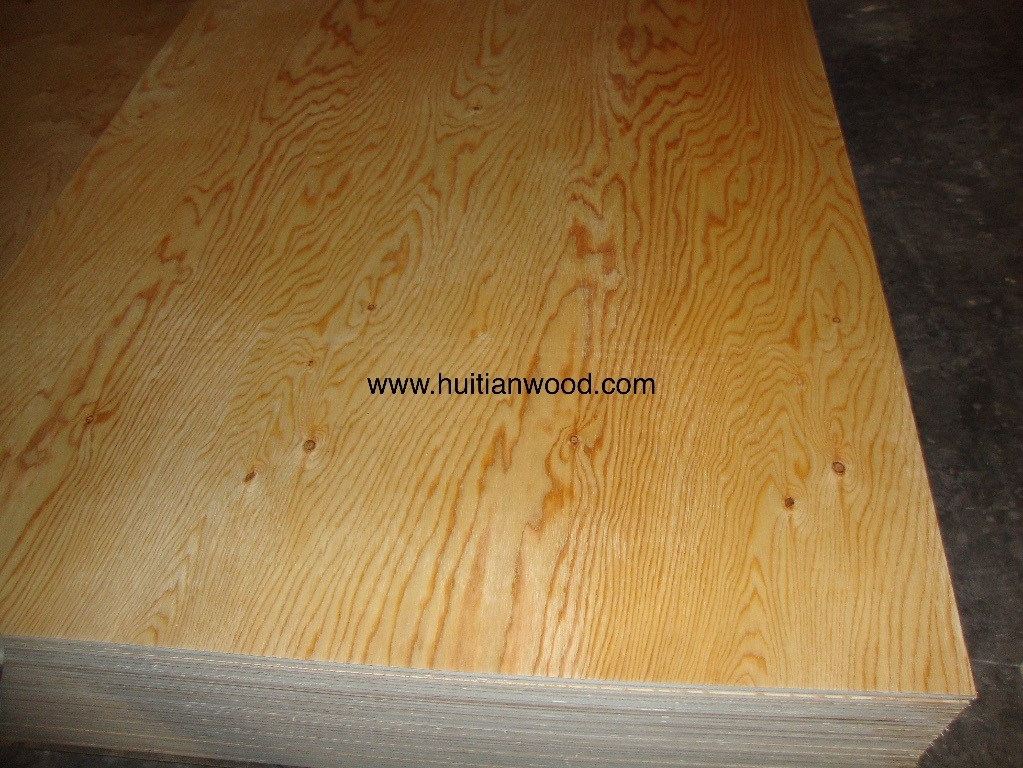 Natural Larch Decorative Fancy Plywood for Furniture with High Grade