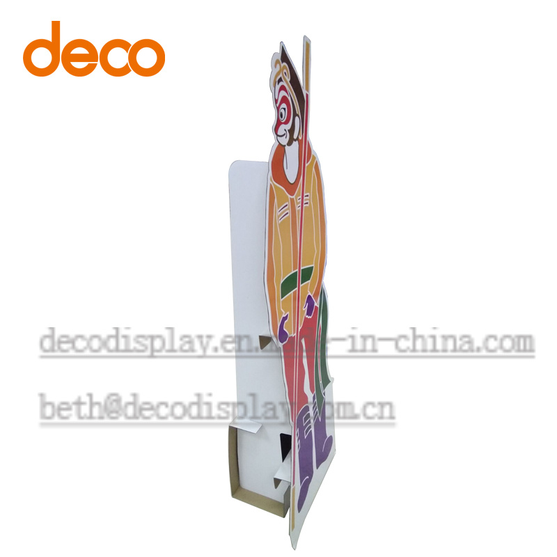 Paper Standee Advertising Paper Display for Promotion