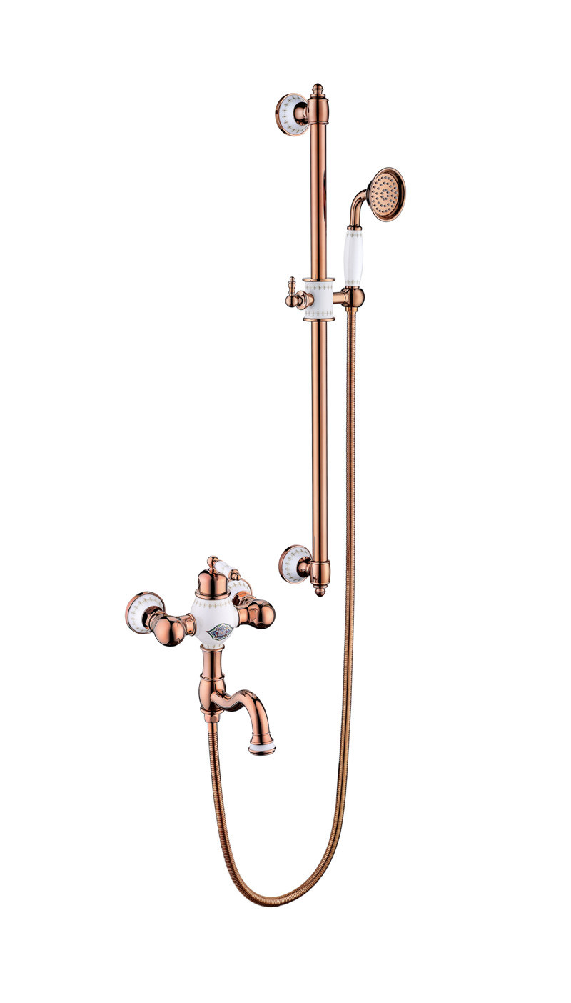 New Design Ceramic Single Handle Antique Basin Faucet