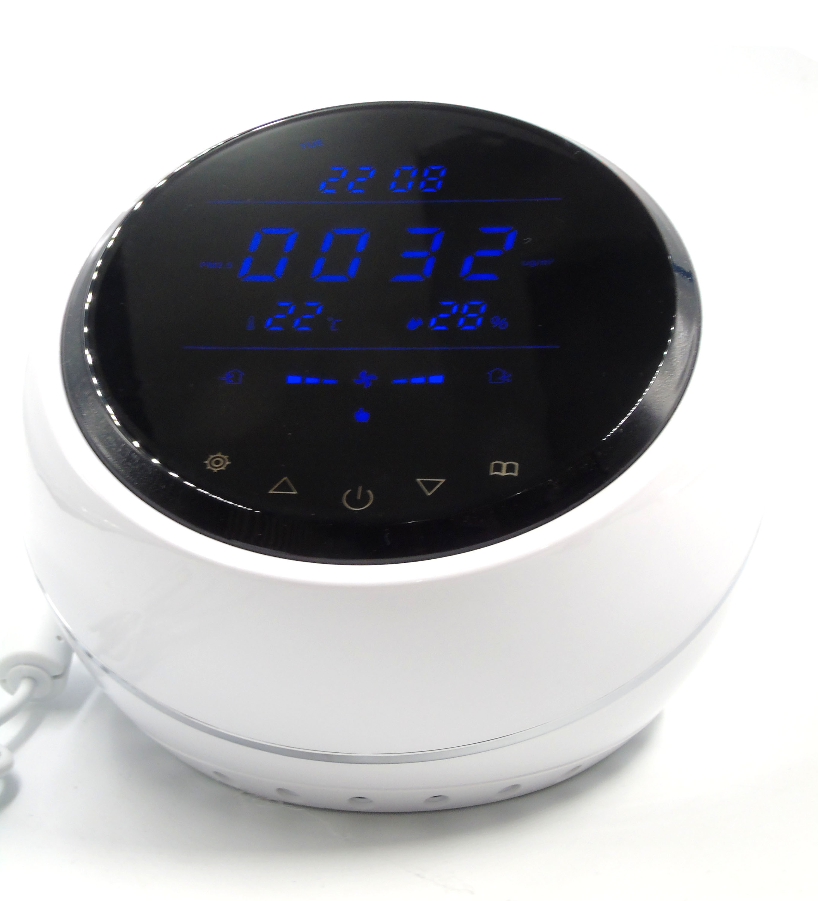 Indoor/Home Using Air System Controller Detects CO2 Pm2.5